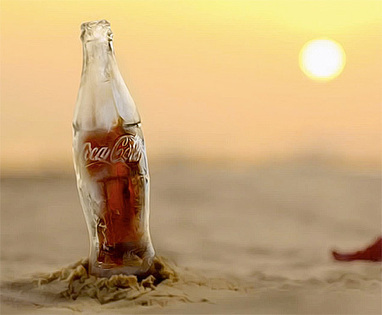 Coca-Cola Ice Bottle   Art, Design & Technology   Scoop.it