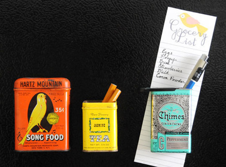 A Cool Way to Organize Stuff Using Vintage Tins | Home & Office Organization | Scoop.it