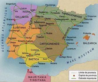 La organización de Hispania: provincias, municipios | LVDVS CHIRONIS 3.0 | Scoop.it