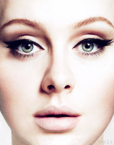 Get The Look: Adele's Old World Beauty  - Vogue Daily | AMAZING WORLD IN PICTURES | Scoop.it