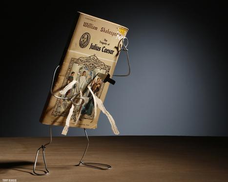 Au fil (de fer) du texte, des livres d'occasion retrouvent la vie | INNO BIENS CULTURELS | Scoop.it
