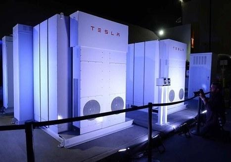 Tesla se diversifie dans les batteries électriques domestiques | Développement durable et efficacité énergétique | Scoop.it