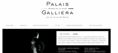 [IL Y A 3 ANS] Le Palais Galliera présente également son nouveau look sur la toile | Clic France | Scoop.it