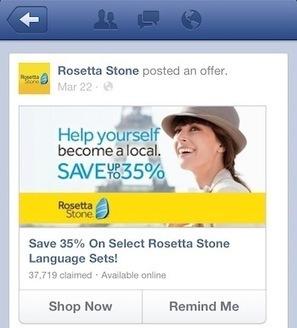 Facebook Tests 'Remind Me' Button For Mobile Offers | Social Media e Innovación Tecnológica | Scoop.it