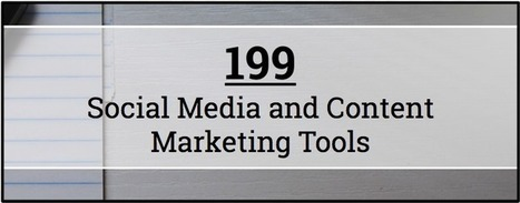 199 #SocialMedia and #Content Marketing #Tools | Help and Support everybody around the world | Scoop.it