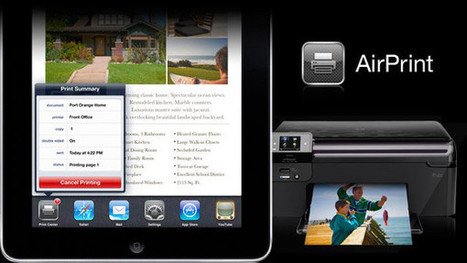 How to Hook up an iPad to Printer - iPadable | idevices for special needs | Scoop.it