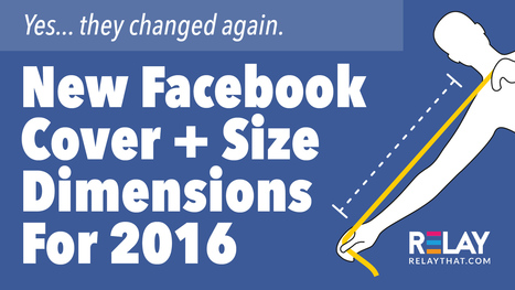 New Facebook Cover + Size Dimensions For 2016 | Grow Social Net | Scoop.it