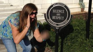 Nonprofit worker fired after photo scandal at Arlington National Cemetery | Responsible Digital Citizenship | Scoop.it
