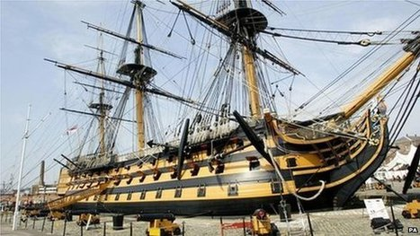 Truth inside rotting HMS victory | News in Conservation | Scoop.it