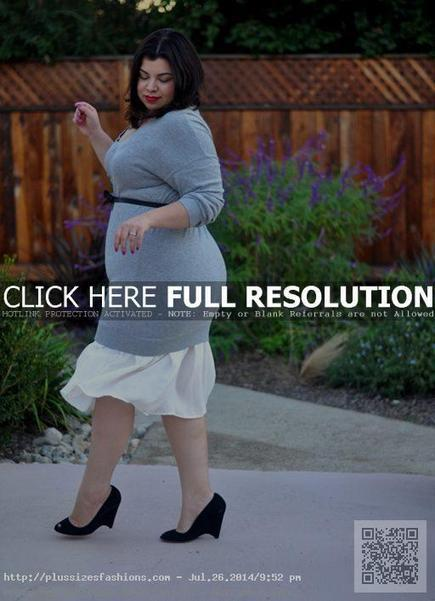 Plus Size Sweater Dresses for Fashionable Women | Plus Size Fashions Blog | Home Designs an Decorating Ideas | Scoop.it
