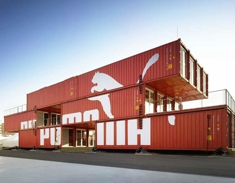 Puma City: A Traveling Modular Store from Shipping Containers | Retail Design Review | Scoop.it
