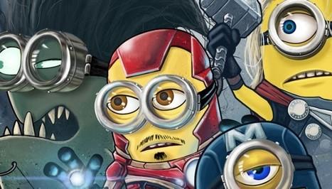 Et si les Minions étaient des Avengers ? | Superheroes & Supervillains | Scoop.it