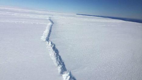 Une crevasse dans la banquise de l'Antarctique pourrait présager un effondrement de la calotte polaire | Grands Risques d'Entreprise | Scoop.it