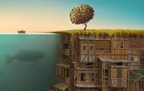 Surreal Worlds Digitally Painted by Gediminas Pranckevicius   Machinimania   Scoop.it