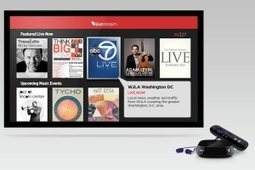 Livestream and Roku to Pump Live Video on Connected TVs - Xconomy | Richard Kastelein on Second Screen, Social TV, Connected TV, Transmedia and Future of TV | Scoop.it