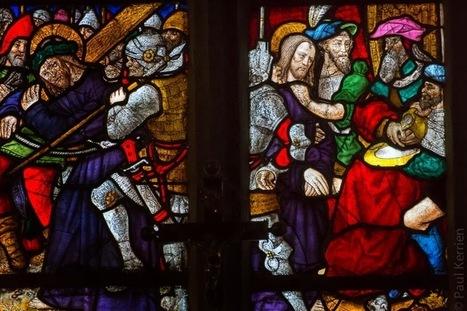 Bretagne - Finistère : vitraux de Plogonnec (3 photos) | Vitraux | Scoop.it