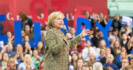 Clinton Camp says She's Been Forced to the Left Enough Already | Global politics | Scoop.it