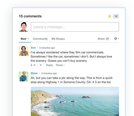 Disqus – The Web's Community of Communities   TICE et Lettres   Scoop.it