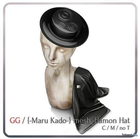 Hamon Hat Group Gift by Maru Kado   Teleport Hub - Second Life Freebies   Second Life Freebies   Scoop.it
