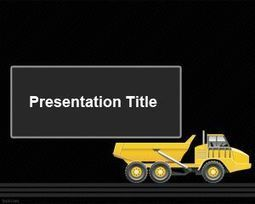 Articulated Truck PowerPoint Template | Free  PowerPoint Templates | Scoop.it