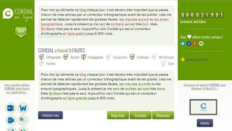 Cordial: Un correcteur d'orthographe et de grammaire en ligne | French learning - le Français dans tous ses états | Scoop.it