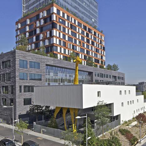 Giraffe Childcare Centre by Hondelatte Laporte Architectes | Inspired By Design | Scoop.it