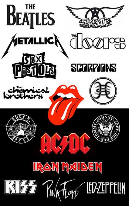 Cuando los logos de las bandas de Rock son tan poderosos como las Grandes Marcas | Educomunicación | Scoop.it