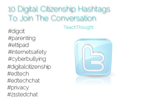 10 Digital Citizenship Hashtags To Join The Conversation | E-learning, Blended learning, Apps en Tools in het Onderwijs | Scoop.it