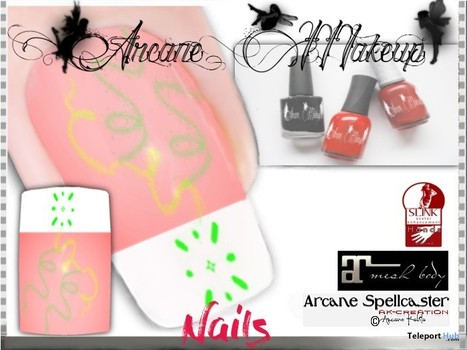 New Start Nails Applier by Ak-Creations | Teleport Hub - Second Life Freebies | Second Life Freebies | Scoop.it