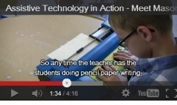 Assistive Technology in Action (video) | Paths to Literacy | ipad accessibility for vision | Scoop.it