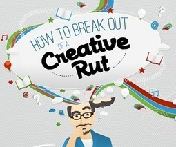 How to Break Out of a Creative Rut | People & Organisational Psychology News | Scoop.it