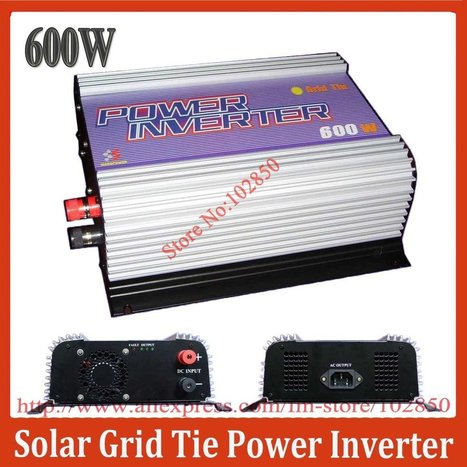 Aliexpress.com : Buy 600W On Grid Solar Power System Inverter,10.8 30V/22 60V DC input,Low cost and easy installation,Free combination from Reliable solar system inverter suppliers on Sunhome Techn... | 40% off From Sunhome techonology | Scoop.it