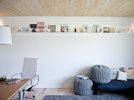 { Bureaux } Le joli bureau minimaliste d'Erin Loechner   décoration & déco   Scoop.it