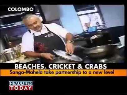 (Video) A visit to Sanga and Mahela's restaurant Ministry of Crab | Sri Lanka Cricket | Scoop.it