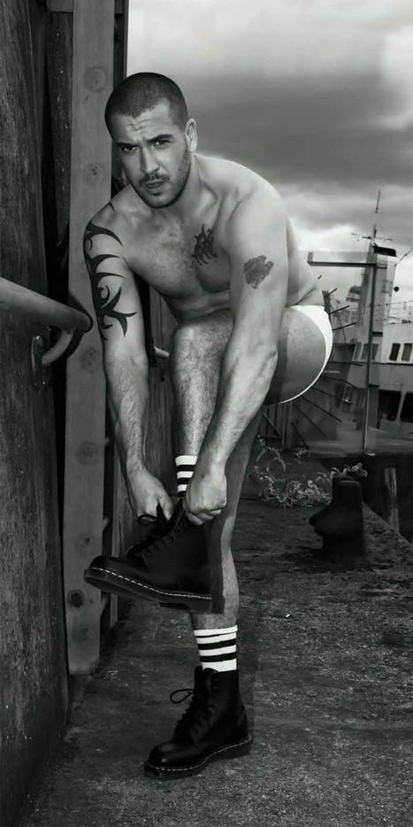 "Shayne Ward Shirtless for ""Onwards & Upwards"" by Joseph Sinclair | Male Model | Scoop.it"