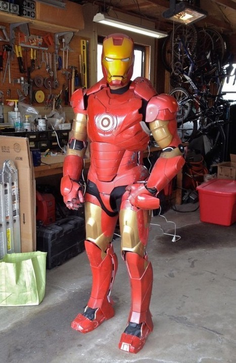 DIY Animatronic Iron Man Suit: Arduino Reactor - Technabob (blog) | Understanding Physics | Scoop.it