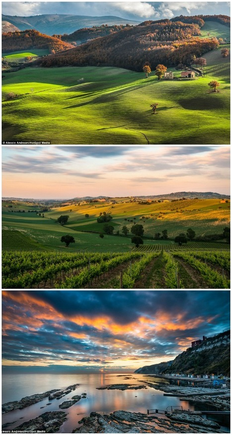 Nature in all her dazzling beauty: Stunning new landscape photos capture the breath-taking countryside of Italy (Le Marche) ... | Le Marche another Italy | Scoop.it