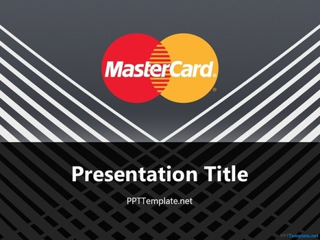 Free MasterCard With Logo PPT Template | Free PPT Templates | Scoop.it