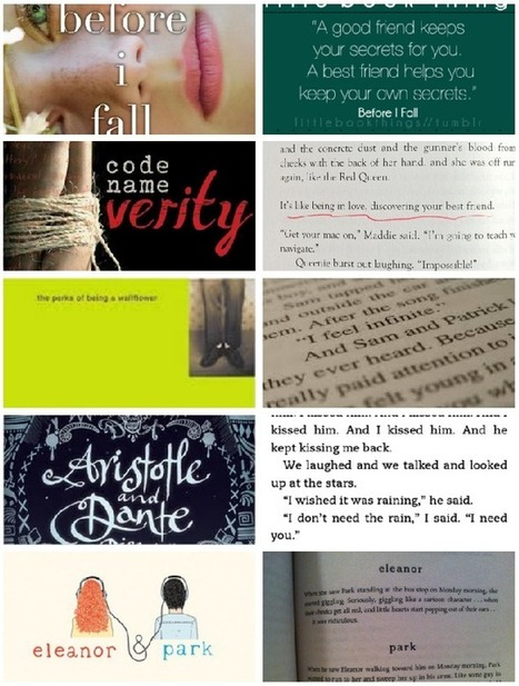 TTT: Young Adult Books About Friendship (reading and running) | Reading | Scoop.it