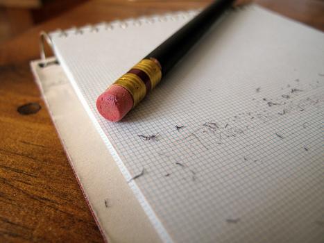 EDITORIÁL: Neboj sa vygumovať svoj plán | Správy Výveska | Scoop.it
