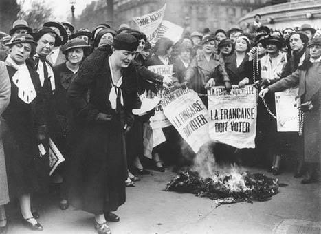 29 avril 1945 : Les Françaises votent pour la première fois   A Voice of Our Own   Scoop.it