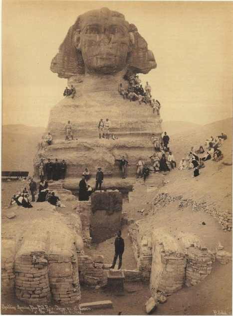 the search for fact | magictransistor: The Sphinx: Giza, Egypt; circa... | some anthropology + found in translation | Scoop.it