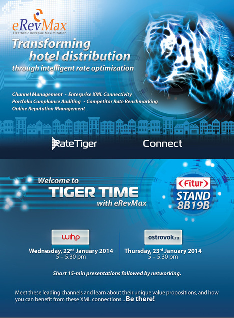 FITUR to witness TigerTime by eRevMax | Events & Awards | Scoop.it