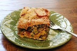 Roasted Vegetable Lasagna | Vegan Recipes | Vegan Blog | Zesty Vegan:  Try This Yummy Dish Today | Useful and Amazing Webpages Trending List | Scoop.it