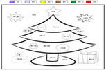 Coloriage magique sapin de noel | Primary French Immersion Education | Scoop.it