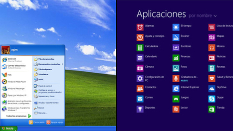 Guía de Windows 8.1 para usuarios que todavía están en Windows XP - Genbeta | Sitios y herramientas de interés general | Scoop.it