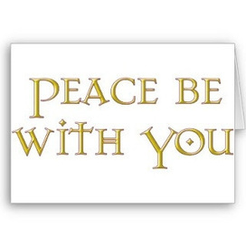 Peace Be With You   Encouragement   Scoop.it