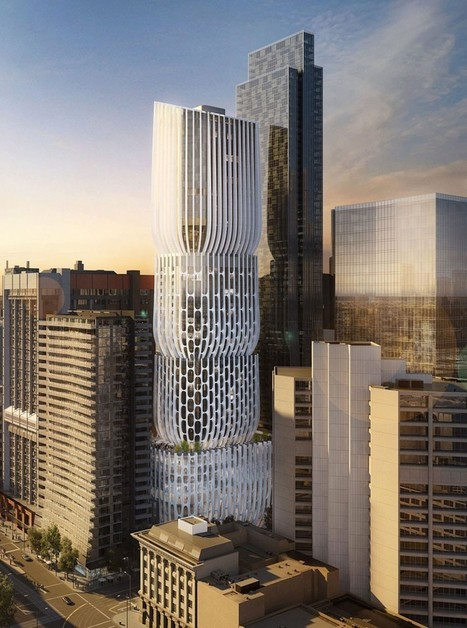 Zaha HADID  architects' 582-606 collins street tower melbourne | The Architecture of the City | Scoop.it