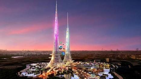 En Chine, des tours géantes pour dépolluer l'air et l'eau | Aimé | Scoop.it