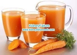 Can the Patients with Diabetes and Kidney Failure Benefit from Carrot Juice-Kidney Failure | Kidney Disease and Diabetes Health | Scoop.it